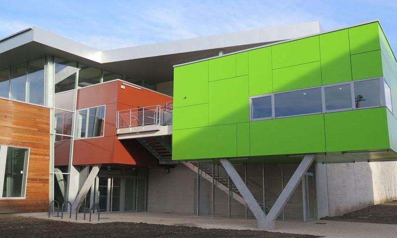 construction d une salle polyvalente a dominante sportive hqe eric lamour architecture